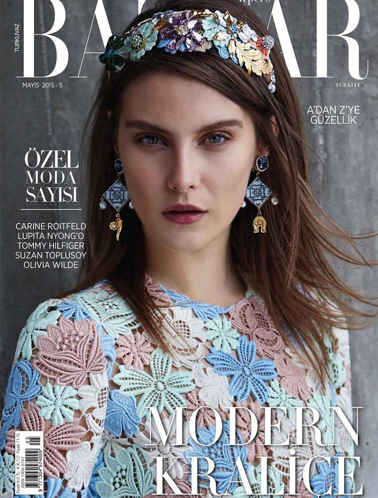 HARPER'S BAZAAR TURKEY - MAY 2015