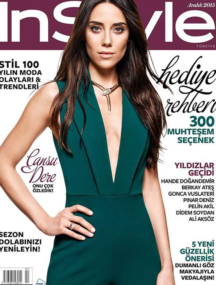 INSTYLE TURKEY - DECEMBER 2015