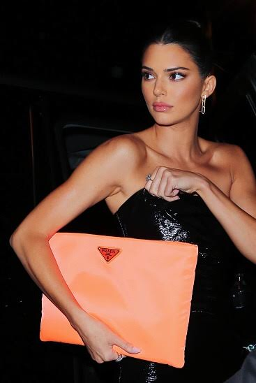 Kendall Jenner Wears Milos Earrings