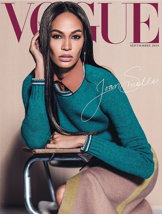 JOAN SMALLS WEARS THE ASTERIA HOOP EARRING ON THE COVER OF VOGUE MEXICO'S SEPTEMBER ISSUE