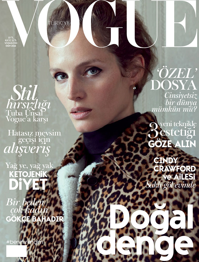 VOGUE TURKEY - OCTOBER 2015