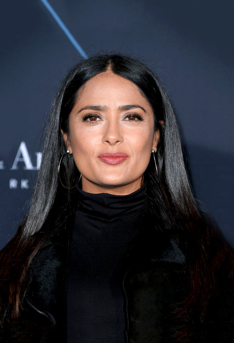 SALMA HAYEK WEARS THE SFERA 2.6 HOOP EARRINGS