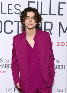 Timothee Chalame Wears Marianne Necklace