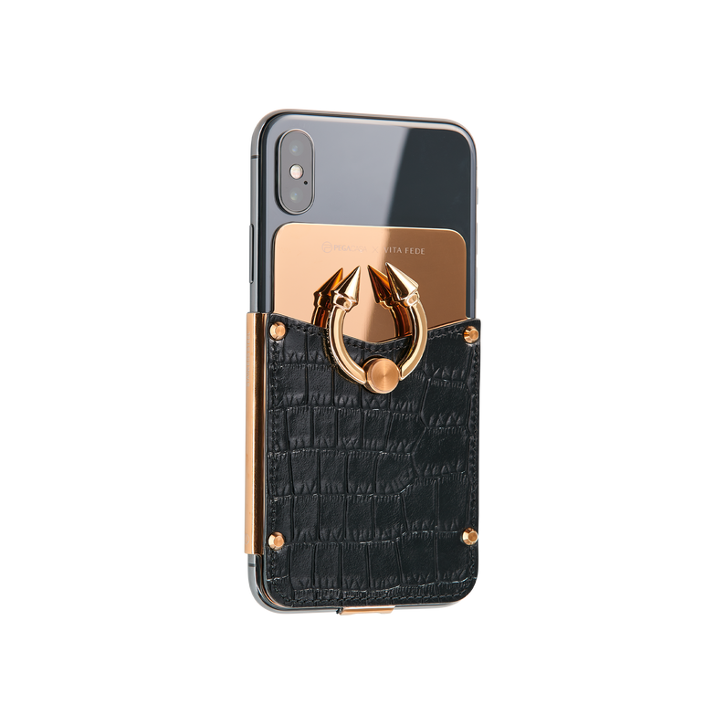Titan Ring iPhone Case - Black