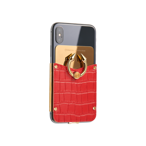 Titan Ring iPhone Case - Cinnabar Gold