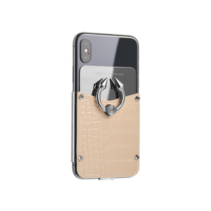 Titan Ring iPhone Case - Ivory Rose