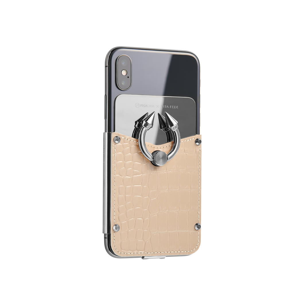 Titan Ring iPhone Case - Ivory