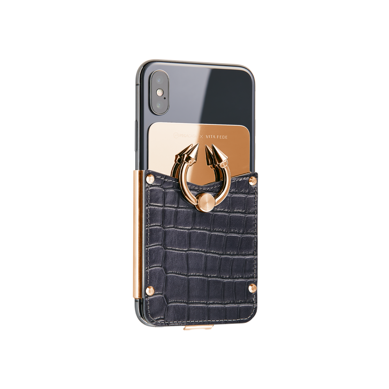Titan Ring iPhone Case - Midnight Blue