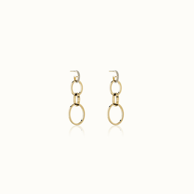 Mini Cassio Crystal Earrings