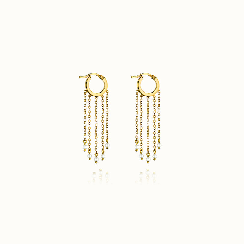 Luca Pearl Earrings