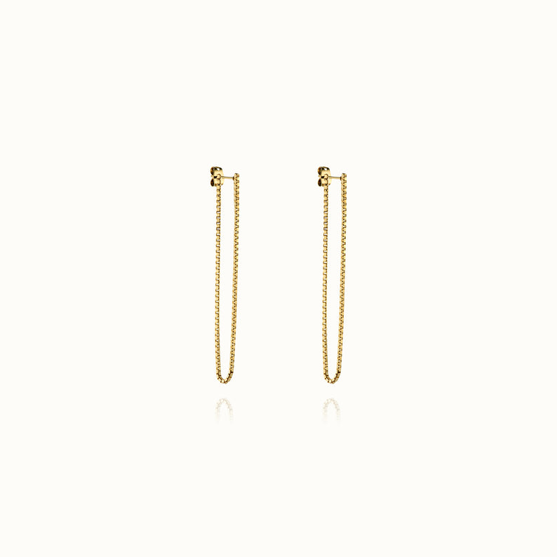Coco Short Chain Earrings