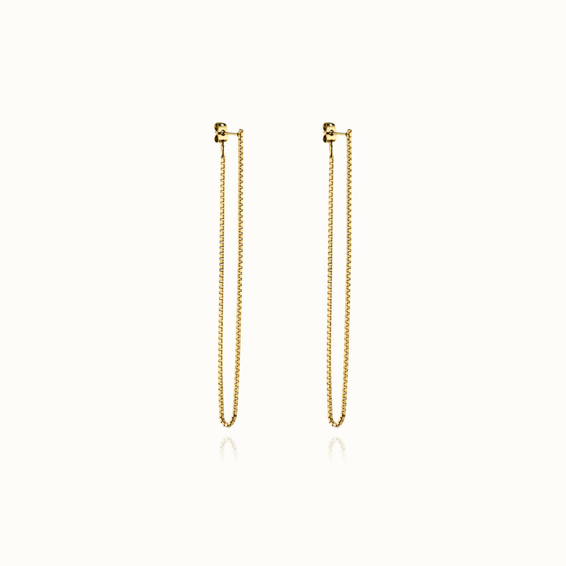 Coco Long Chain Earrings
