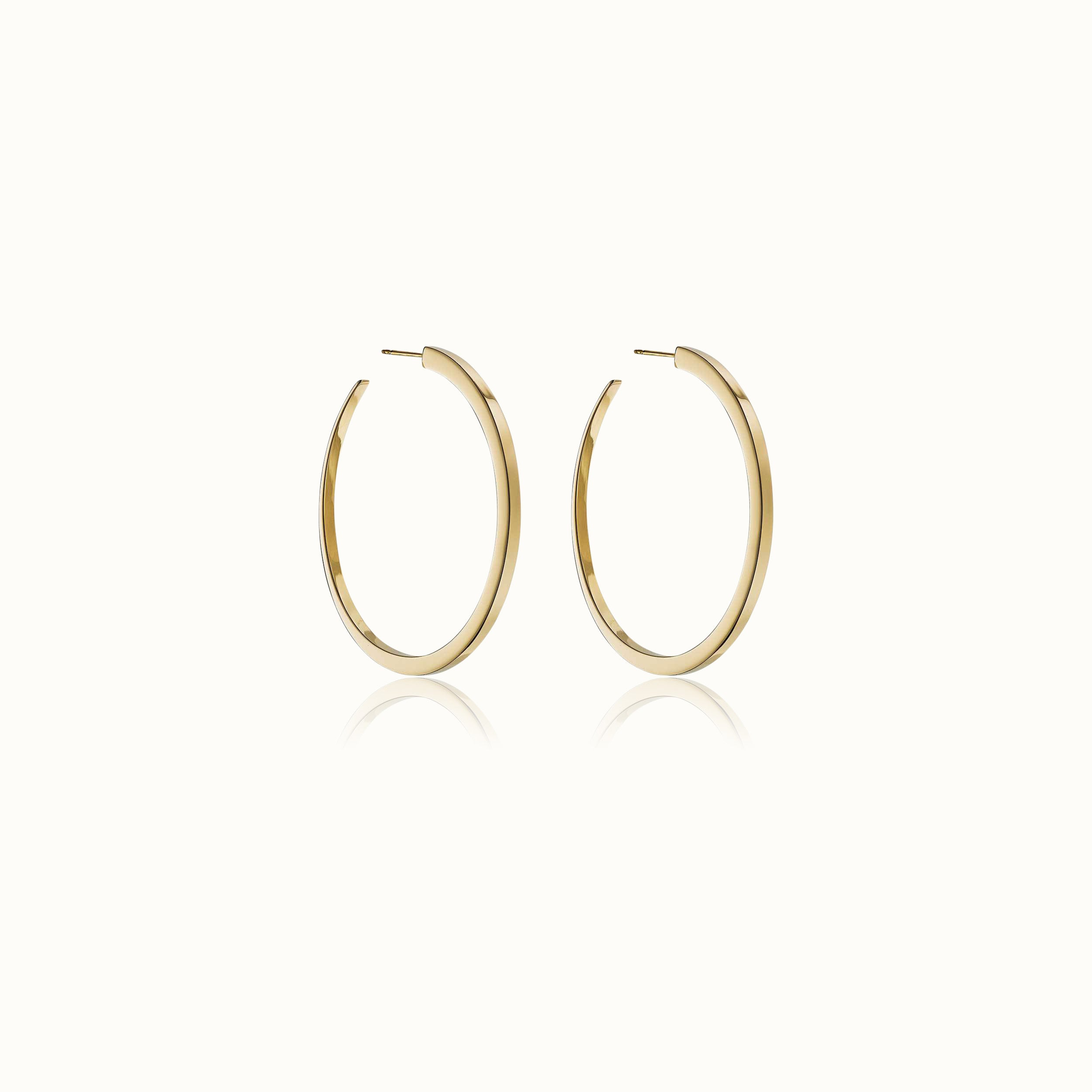 Eclipse Hoop Earrings 1.7