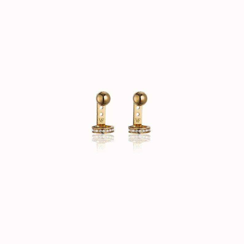 Sfera Crystal Ring Earrings