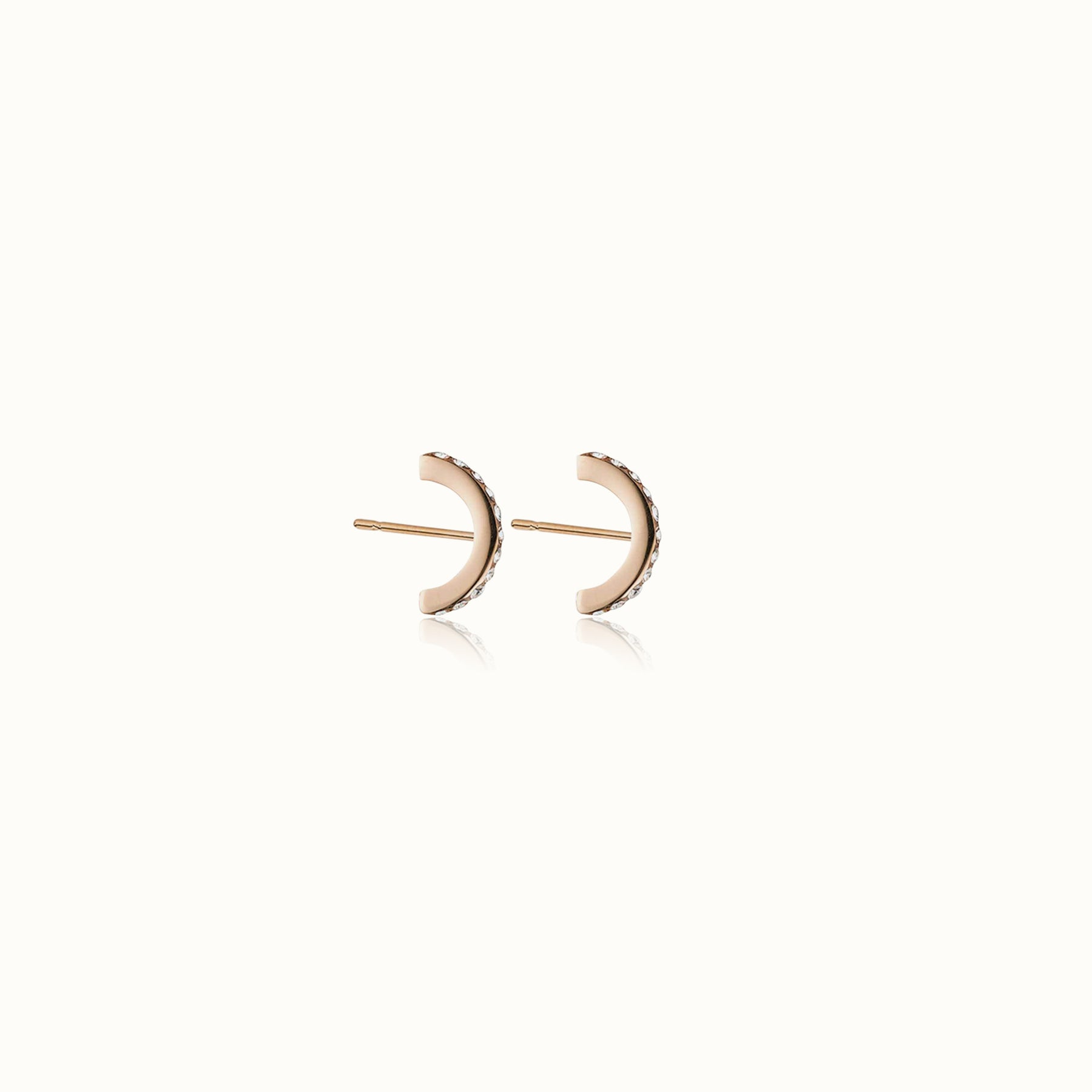 Luna Pave Stud Earrings