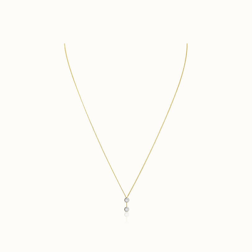 O'Hara Drop Solitaire Necklace