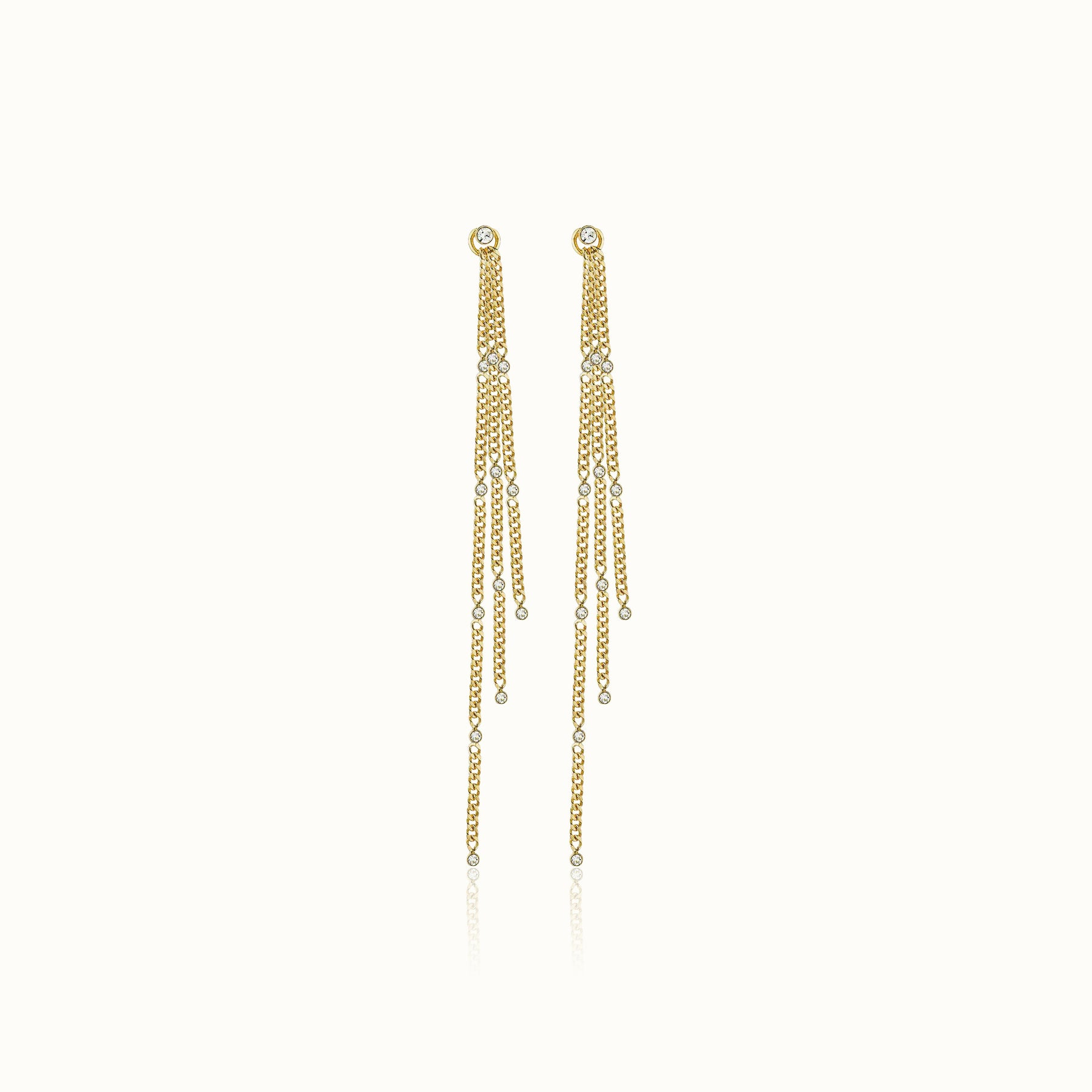 Stella Solitaire Earrings