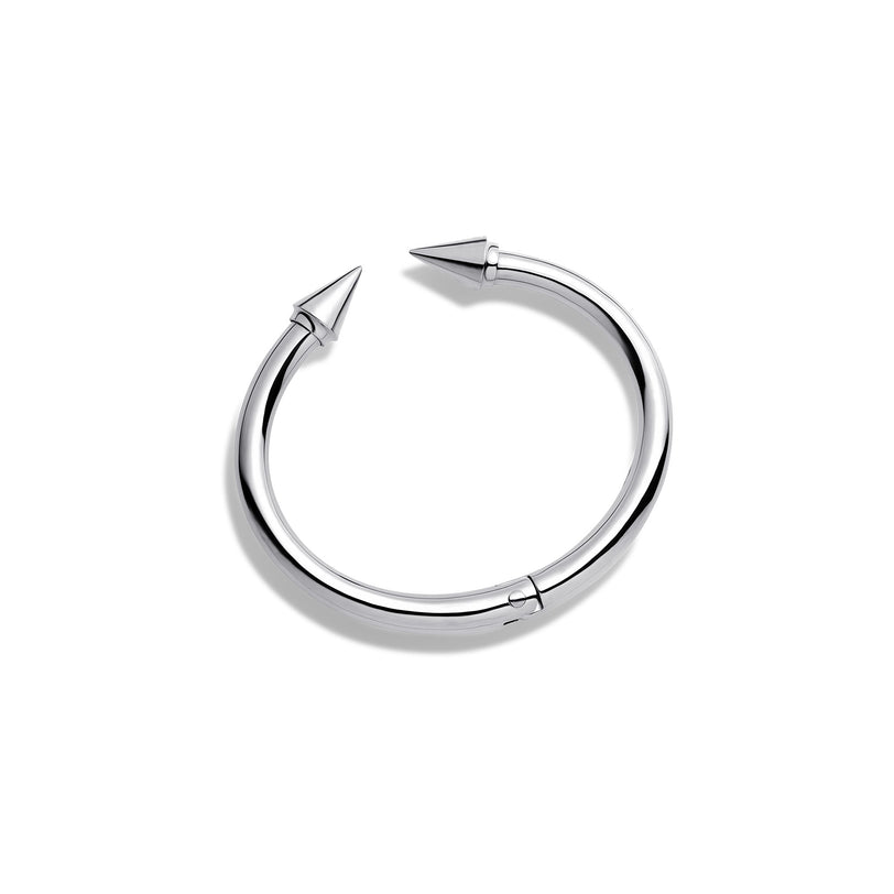 Mini Titan Sterling Silver Bracelet - Plain