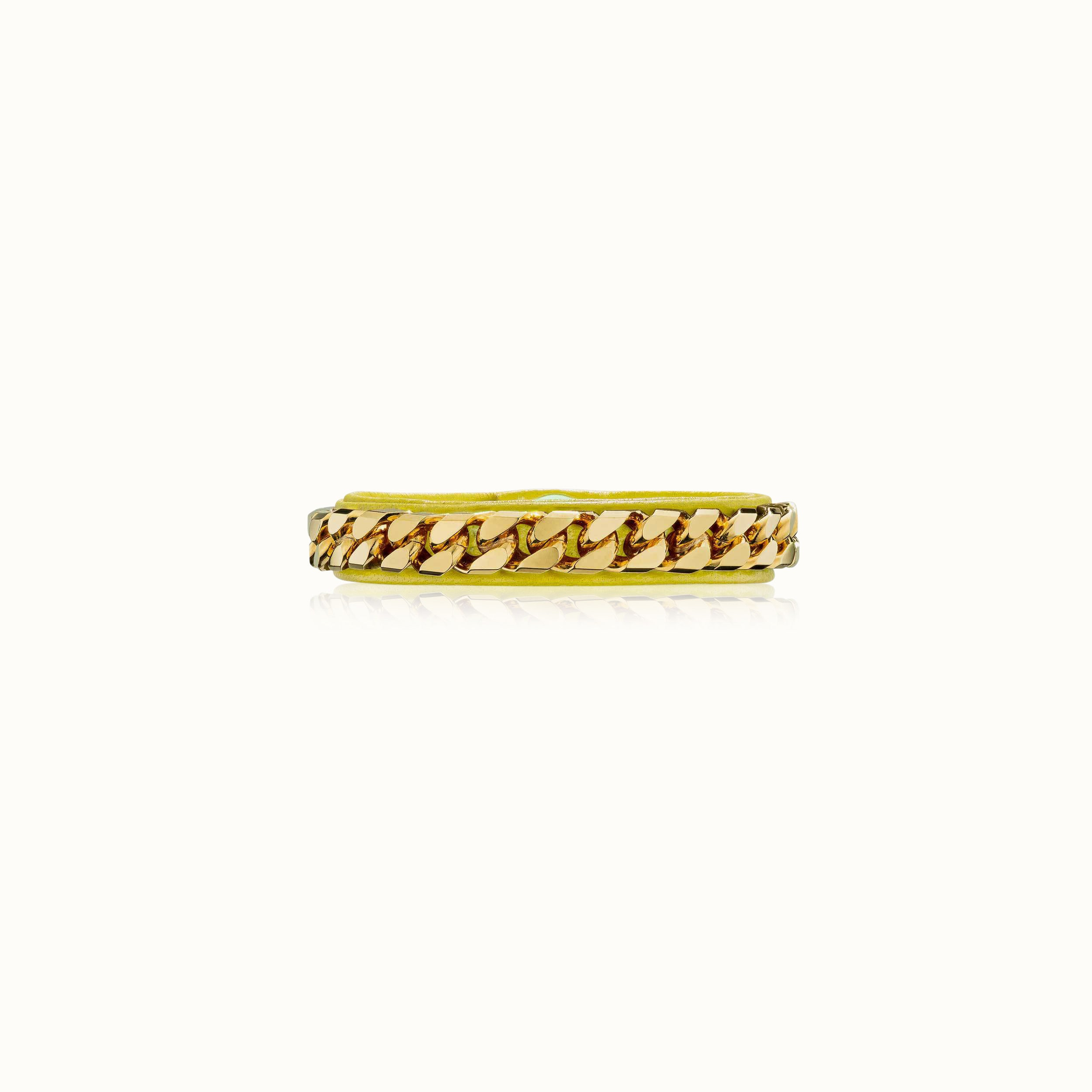 Monaco Single Wrap Bracelet - Gold Finish