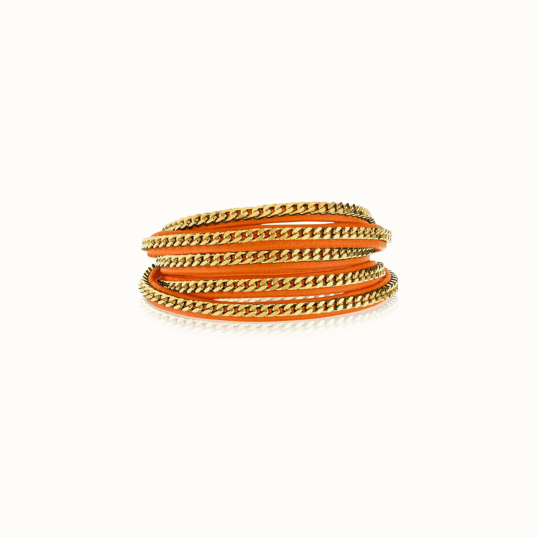 Capri Wrap Bracelet - Gold Finish