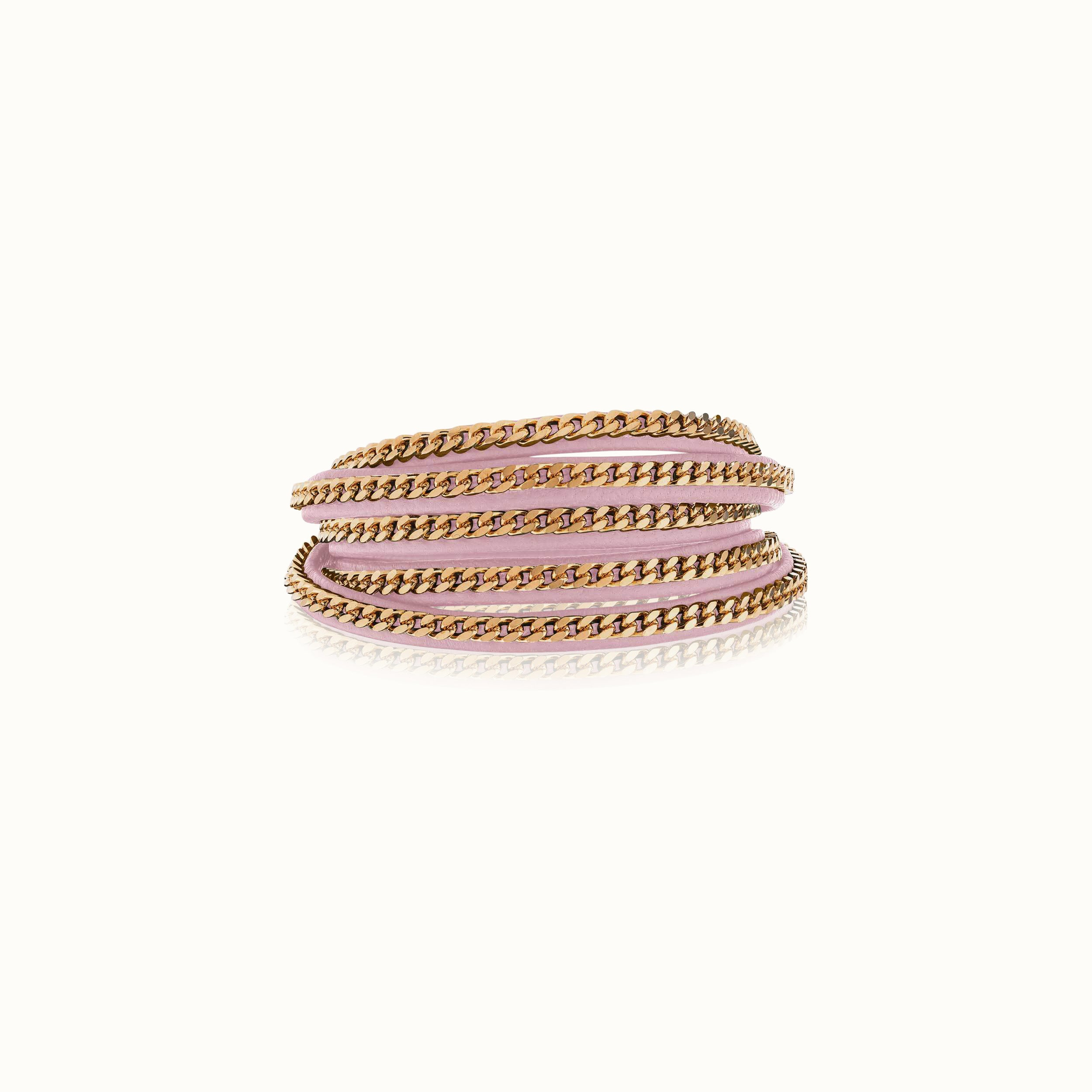Capri Wrap Bracelet - Rose Gold Finish