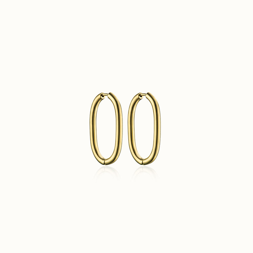 Trinity 3.0 Hoop Earrings
