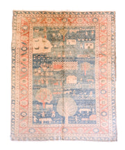 Heir Looms Vintage Turkish Pictorial Rug No. 144 (7 x 9)