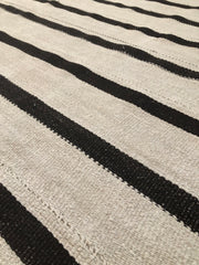 (On hold) Heir Looms Vintage Turkish Striped Kilim Rug No. 152