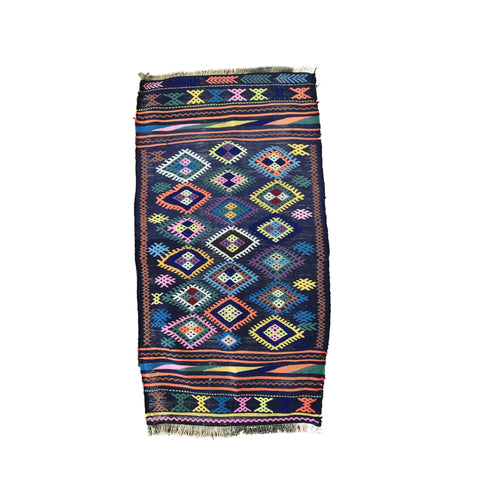 Heir Looms Vintage Turkish Kilim Rug No. 155 (mini)