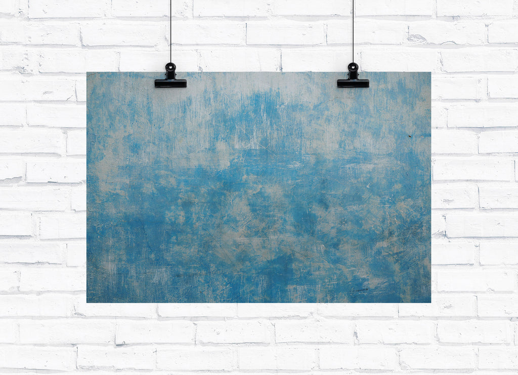 Royal Blue Paint Photography Backdrop -  - everydayco - everydayco.com.au