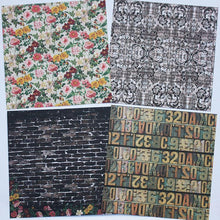 Load image into Gallery viewer, 6-Inch Vintage Style DIY Scrapbook Background Paper<24 PCS>