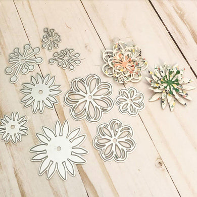 Mini Cute Flower Decor Dies