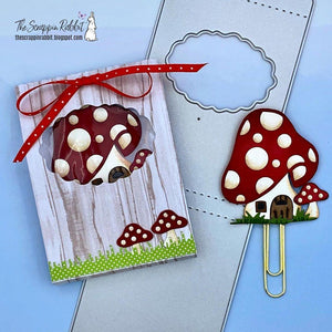 Mini Cloud Shape Cover Hollow Bag Dies