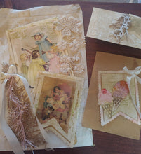 Load image into Gallery viewer, Stitched Lace Tag Decor Dies