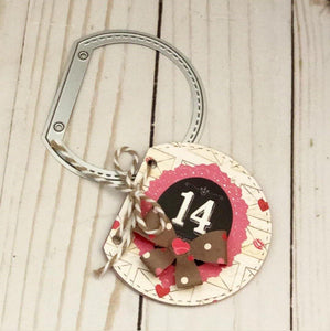 Mini Label Semicircle Scrapbook Dies