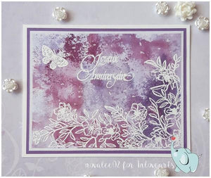 Flourishing Flowers Decorative Stamps