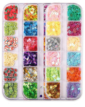 Load image into Gallery viewer, 6 Shapes of Glitter Sequins(6 Colors)