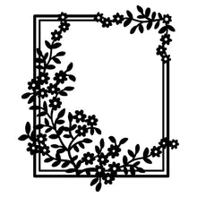Load image into Gallery viewer, Flower Branches Frame Border Dies