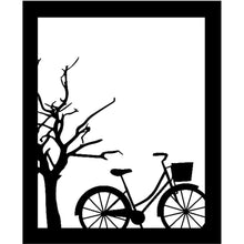 Load image into Gallery viewer, Silent Bicycle under The Tree Frame Dies