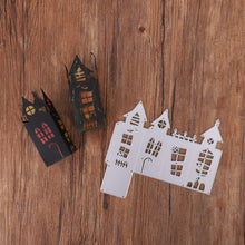 Load image into Gallery viewer, 3D Ghost House Shape Box Decor Dies