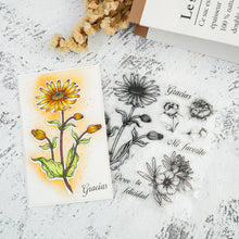 Load image into Gallery viewer, Beautiful Flowers Collection Dies with Stamps Set