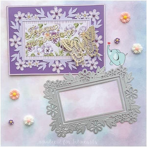 Lace Frame Layer Flower Cut Dies