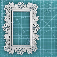 Load image into Gallery viewer, Lace Frame Layer Flower Cut Dies