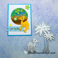 Load image into Gallery viewer, Sun Coconut Tree Camel  Dies