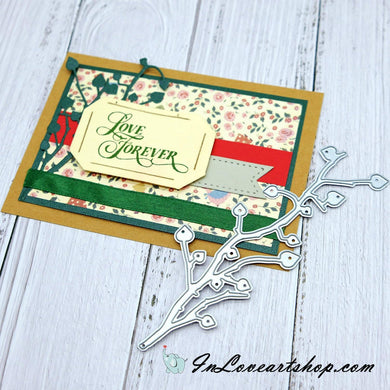 Branch Heart Decor Cutting Dies