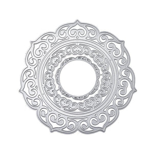 Large Size Hollow Circle Background Dies