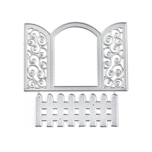 Lace Window Fence Cutting Dies