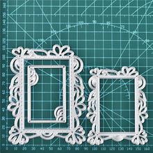 Load image into Gallery viewer, Rectangle Lace Frame Dies
