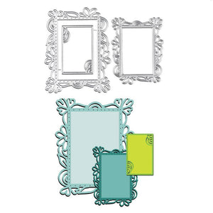 Rectangle Lace Frame Dies