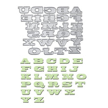 Load image into Gallery viewer, English Letters Alphabet Dies